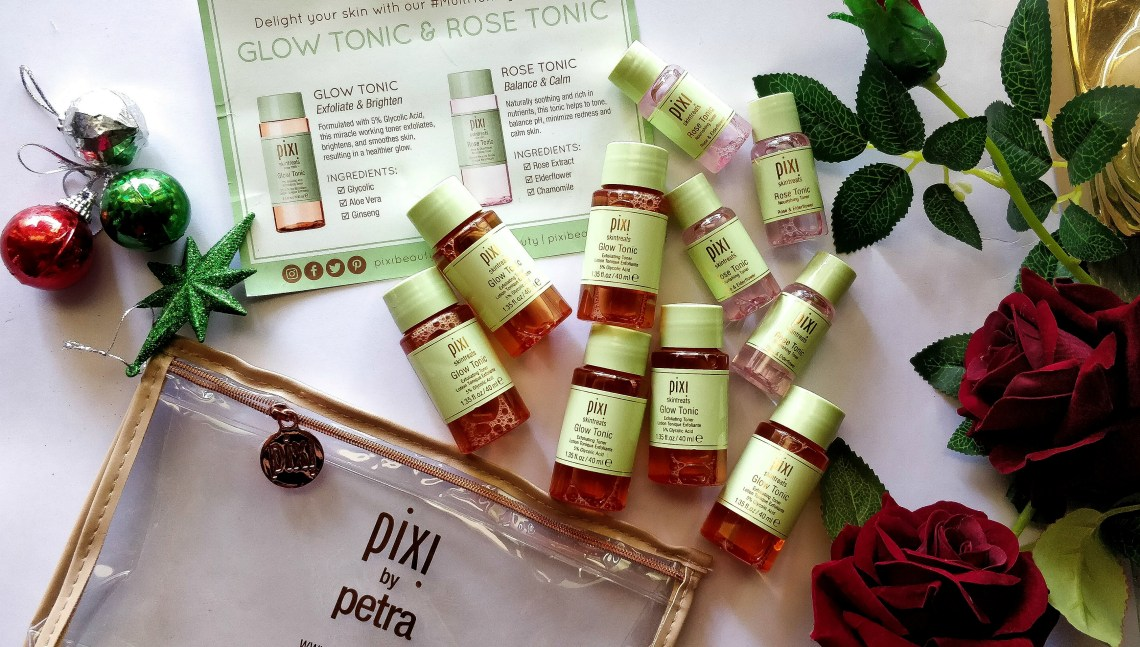 pixi exfoliating toner, pixi beauty, pixi glow tonic, pixi rose tonic, buy pixi glow tonic, pixi glow tonic ingredients, pixi glow tonic india, pixi glow tonic review, pixi multi toning essentials