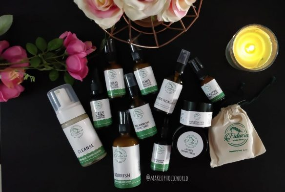 fiducia botanical skincare, fiducia botanical products, made in india, hand made products, fiducia botanicals lemongrass foaming cleanser review, fiducia botanicals floral facial mist review, fiducia botanicals minimizing facial toner review, fiducia botanicals daily brightening concentrate review, fiducia botanicals argan & rosehip facial lotion review, fiducia botanicals hemp & rose otto facial lotion  review, fiducia botanicals de-puffing under eye cream review, fiducia botanicals lavender cream cleanser review, fiducia botanicals lemongrass body lotion review, fiducia botanicals rejuvenating glow facial oil serum review, fiducia botanicals everlasting youth prickly pear moisturizer review, fiducia botanicals skincare products, fiducia botanicals cream review
