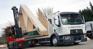 Renault Trucks Range D for Anglian Timber