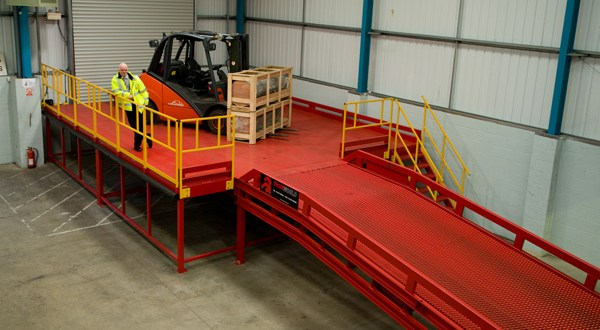 Thorworld loading bay successfully modified to accommodate Universal Silencer's expanding imports