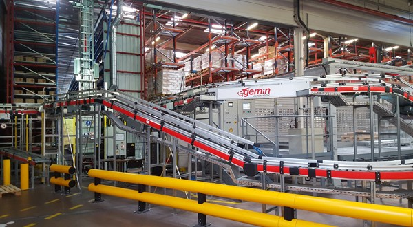 Egemin installs automated warehouse system for main BASF plant in France