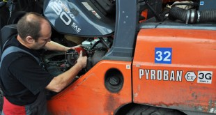 Safety drive prompts audits for 2016 explosion proof forklifts