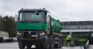 Renault Trucks Range K is 'Powerhouse off road' for Robin Liquid Waste Disposal