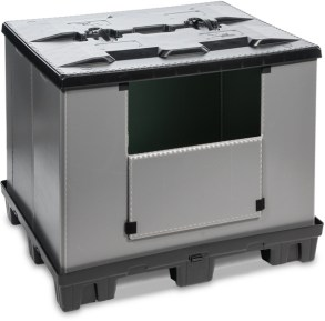 Goplasticpallets.com launches best in class collapsible pallet box 1