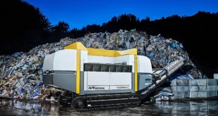 Austrian innovation takes waste shredding solution mobile