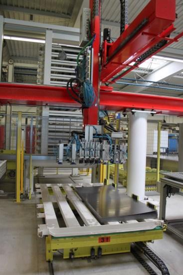 KASTO sheet metal storage system