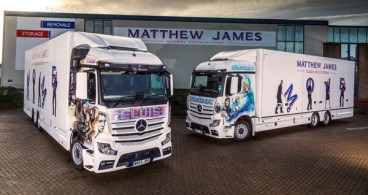 Matthew James makes a smart move with Mercedes-Benz Actros from Rygor