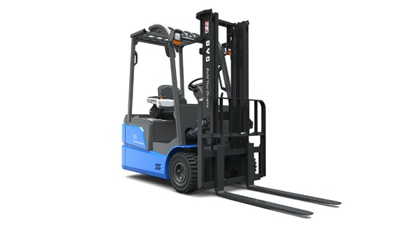 BYD 'honoured' to be selected in International Forklift Truck of the Year Award 2016