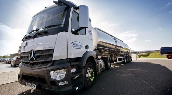 Wincanton's new electric tankers revolutionise dairy distribution