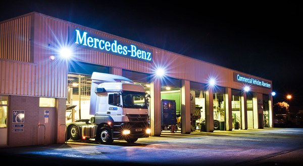 MBCV Aberdeen, Ayr and Highland are stars of the show at Mercedes-Benz Truck Awards