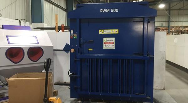 Motor manufacturer Mellor Electrics boosts recycling agenda with Riverside waste baler