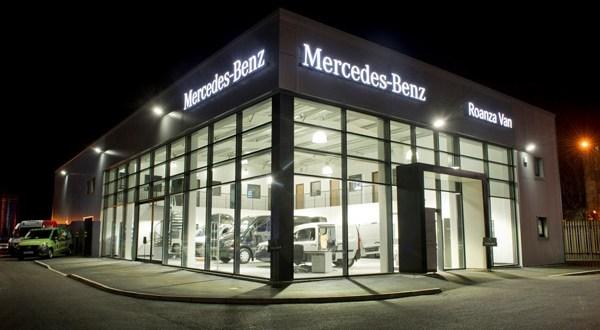 Mercedes-Benz dealer Roanza Truck & Van launches £1m Liverpool van centre