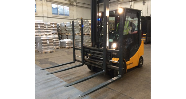 New Truck Attachments at Ardagh Group improve speed of operations