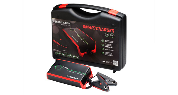 New Mascot Smart Charger optimises lead-acid Batteries, doubles as a power supply