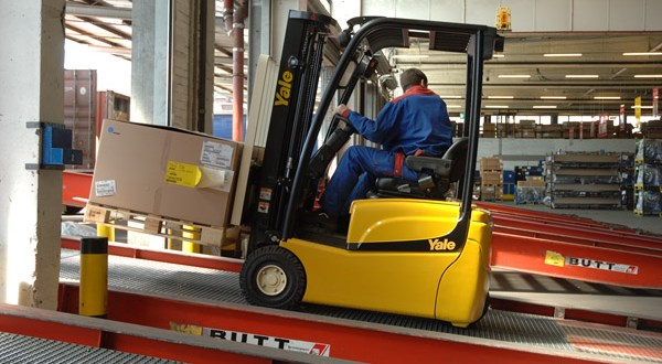 Yale ERP15-20VT: Europe's most energy efficient electric forklift