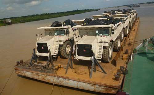 Terex Trucks odyssey to Myanmar