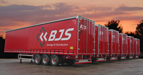 Ryder delivers 50 curtainsiders to BJS on a full service deal