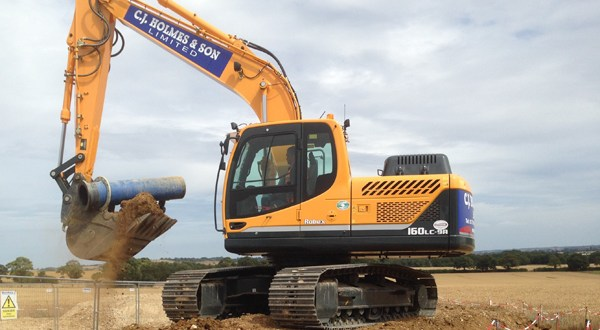 CJ Holmes choose Hyundai machines for new plant-hire arm of the business