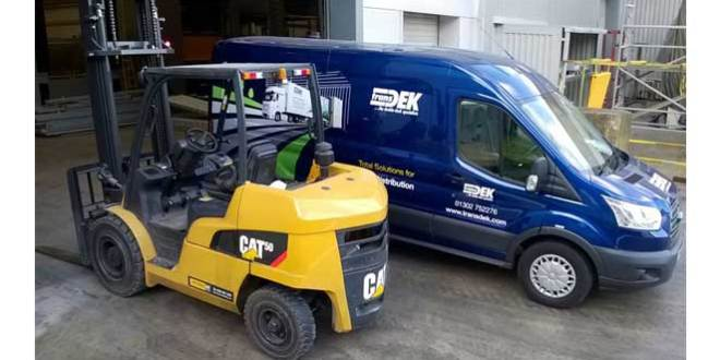Transdek keeps Cat® Lift Truck tradition alive with order from Impact