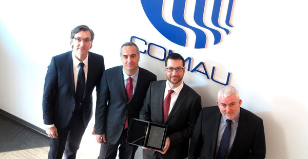 "Comau is awarded the ""Volvo Quality Excellence Award"""