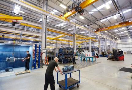 Konecranes helps SEW Eurodrive gear up its lifting capability 1