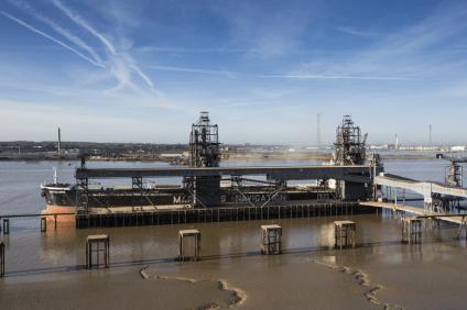Port of Tilbury expands grain terminal 1