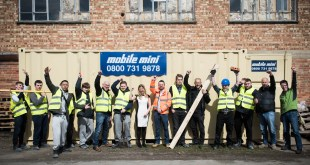 Aylesbury Mobile Mini helps ToolShed build careers for young people
