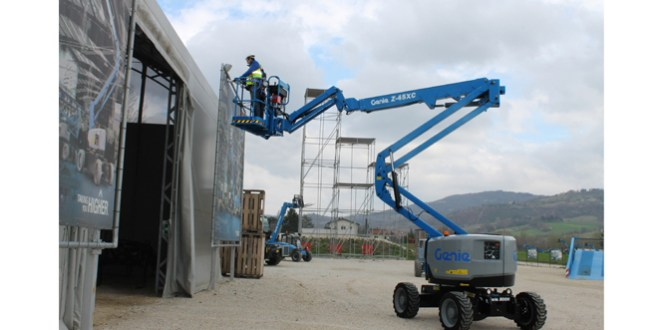 Genie puts the spotlight on new extra capacity Z™ Boom at Bauma