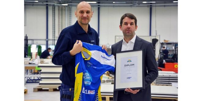 Envirotainer sponsors the Ride of Hope Europe - Team Stockholm