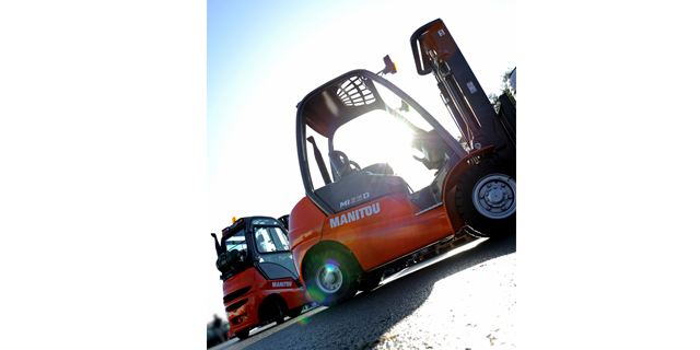 The Manitou Group takes part in CeMAT
