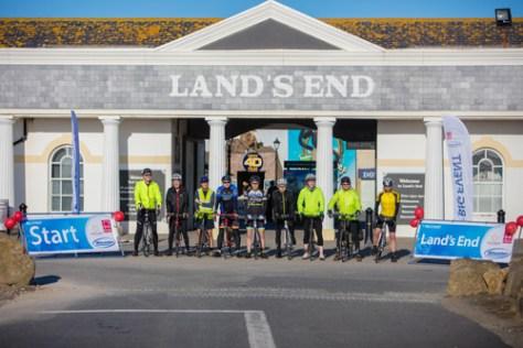 999 miles - Wincanton takes on Land's End to John O'Groats challenge 1