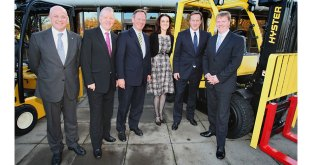 Hyster celebrates 35 years of tough trucks from Craigavon