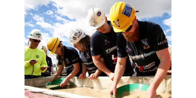 Cornish Team win Three Gold medals at International Mining Games