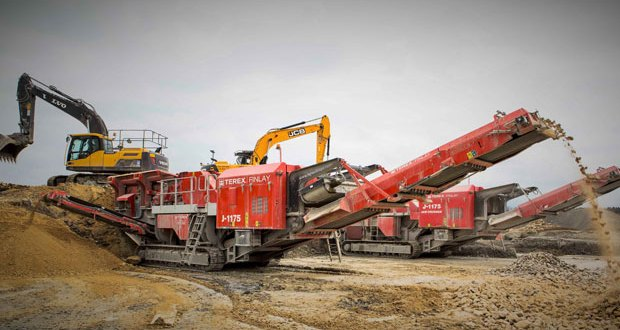 Earthline extends Terex Finlay J-1175 fleet to meet demand