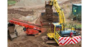 Terex Finlay 595 supports smooth running and sustainability at East Leake