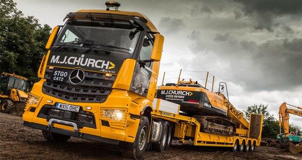 Mercedes-Benz Arocs wins high praise from MJ Church