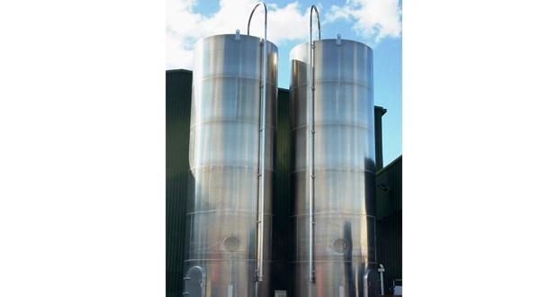 Barton Fabrications space saving silos