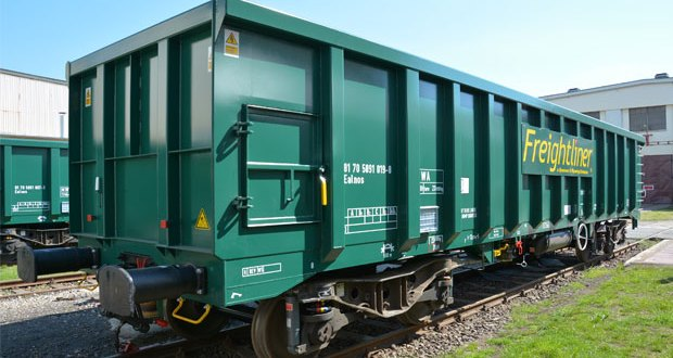 Freightliner becomes first in the UK to build box wagons out of recycled coal hoppers
