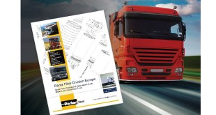 Parker Racor updates its medium and heavy duty truck spare parts catalogue and applications guide