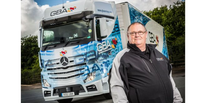 17.1 mpg GBA Mercedes-Benz Actros sets a new standard for fuel efficiency
