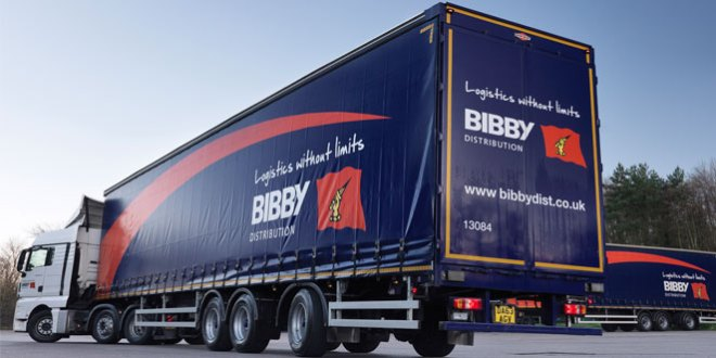 Bibby Distribution CO2 footprint shrinks for third year running