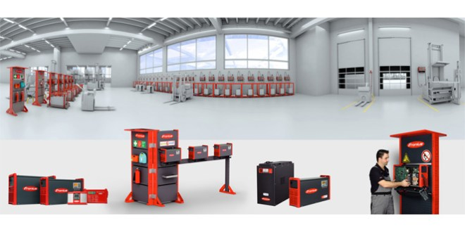 IMHX 2016 Fronius to present a wide range of battery charging technology