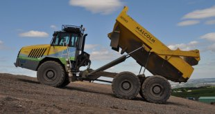 Terex Trucks adds muscle to clean energy in Scotland