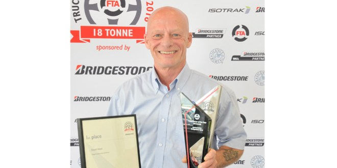 Winner of FTA Truck Driver of the Year 18 tonne 2016 announced