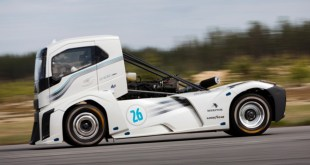 Goodyear truck tyres the fastest in the world