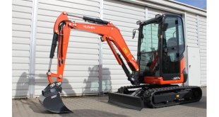 Kubota introduce new high spec mini excavators