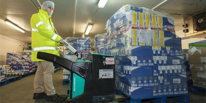 Leading UK food group chooses Mitsubishi forklifts