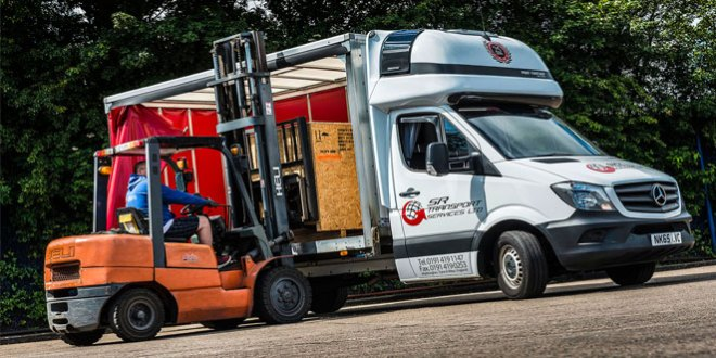 Mercedes-Benz Sprinter lifts the curtain on SR Transport Silver Anniversary celebrations