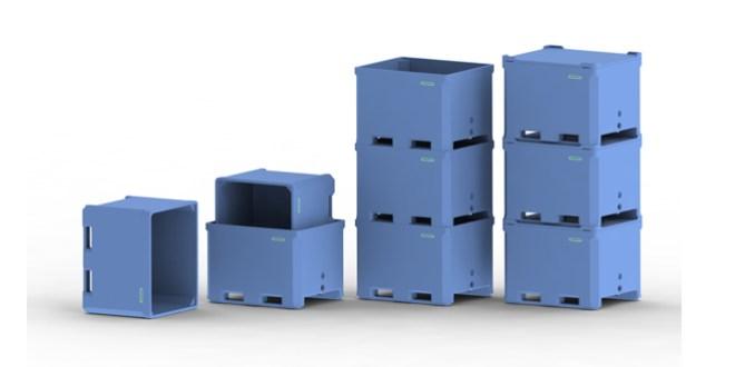 RPC Saeplast enhances PE reusable plastic container range