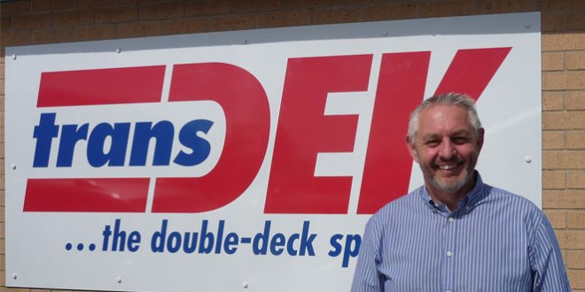Senior appointment at Transdek to drive double deck trailer expansion